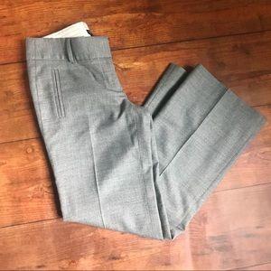 J Crew Light Gray City Fit Trousers / Slacks EUC